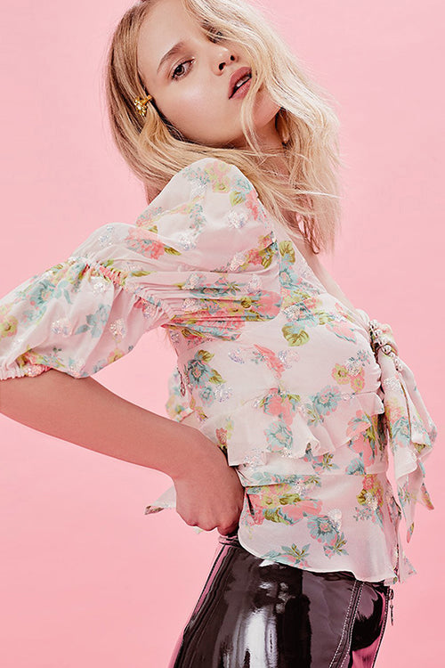 These Memories Floral Top