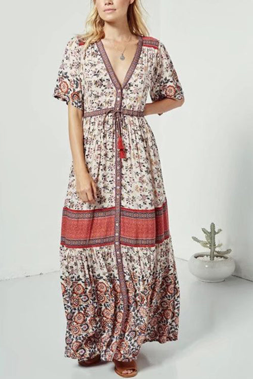 Pleasant Days Maxi Dress