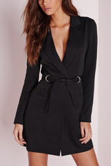 Taking Charge Tie Coat