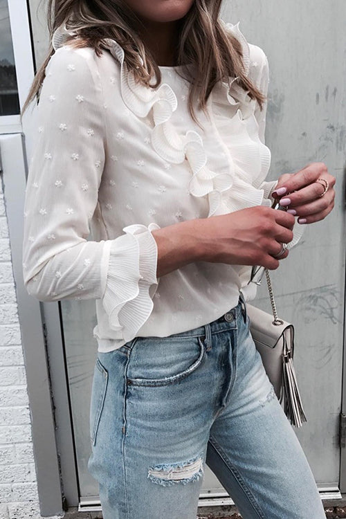 My Ruffle Days Blouse