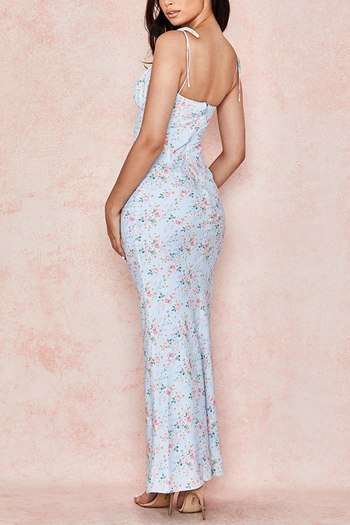 Love to Express Floral Maxi Dress - UnikWe Boutique