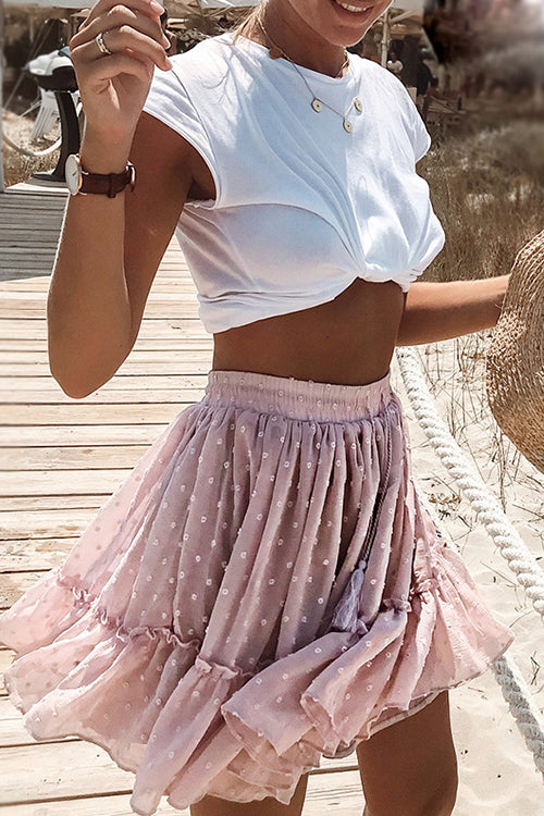 Lovely Sweetie Pink Mini Skirt - UnikWe Boutique