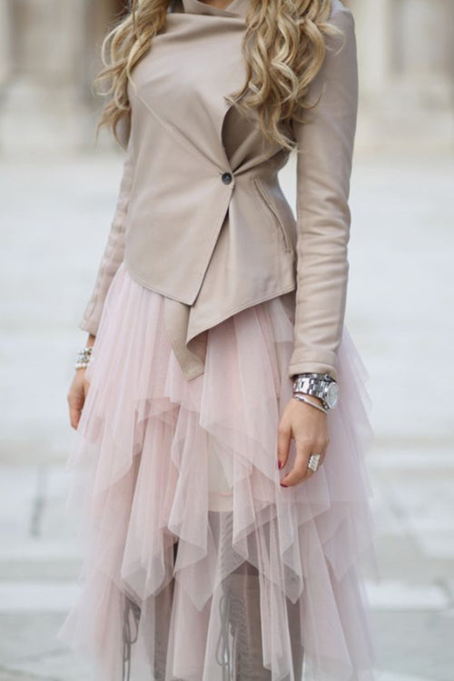 Lovely Pink Tulle Skirt