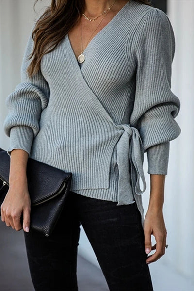 Knit Season Puff Sleeve Sweater
