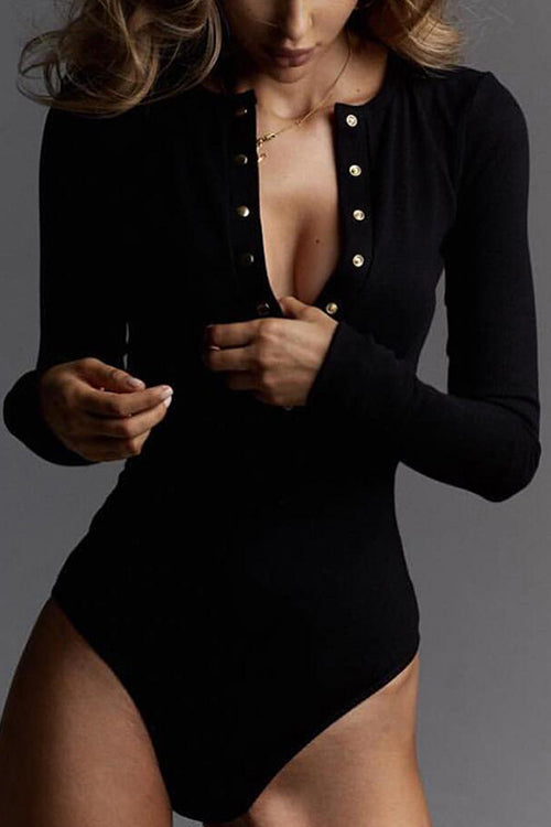 Cozy Up Elastic Bodysuit