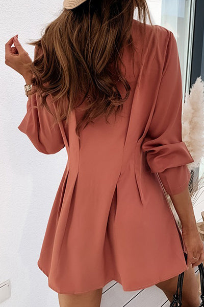 Perfect Outfit Waisted Mini Dress