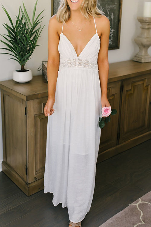 Dreamer's Dream Lace Maxi Dress