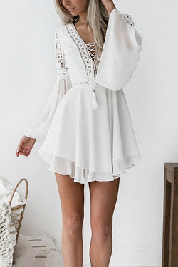 Believe in Love Lace Mini Dress