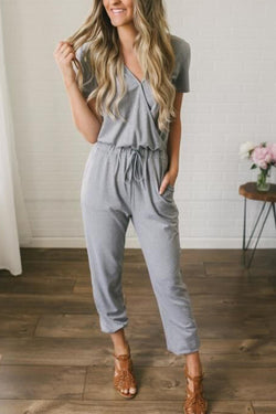 Life Story Solid Jumpsuit