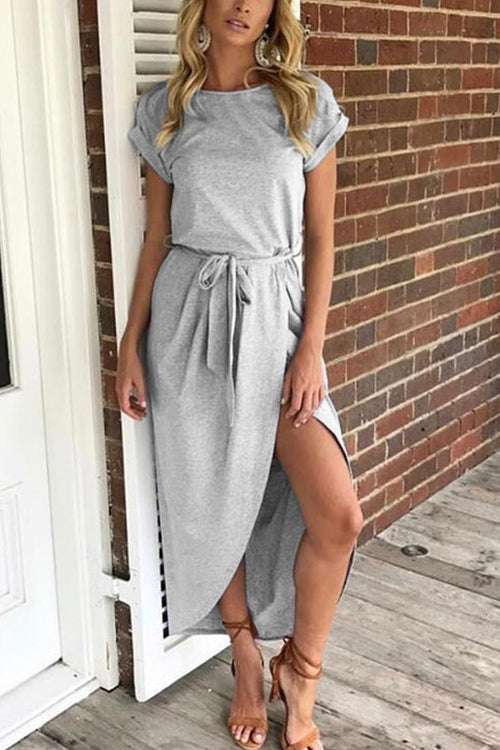 Loving You Wrapped Maxi Dress - UnikWe Boutique