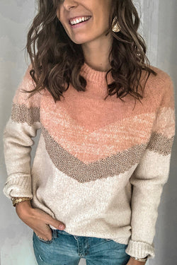 Cozy Kisses Round Neck Sweater - UnikWe Boutique