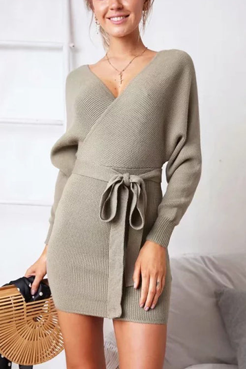 Cozy Outside Sweater Dress - UnikWe Boutique