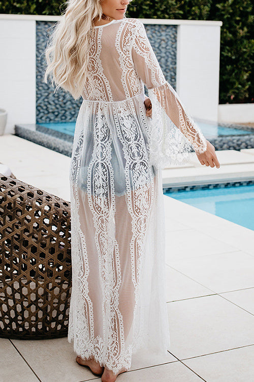 Just For You Lace Kimono