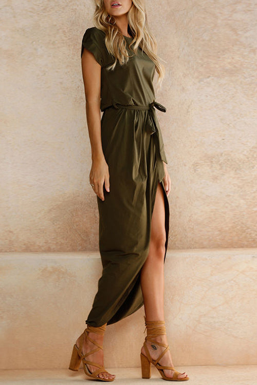 Loving You Wrapped Maxi Dress