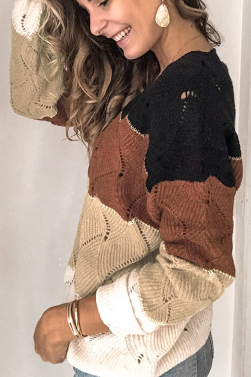 Cozy Retreat V-neck Sweater - UnikWe Boutique