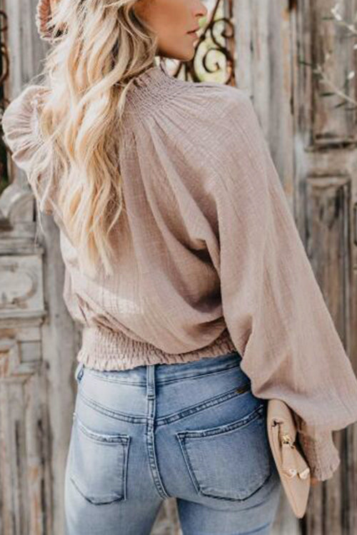 Sweet Memories Puff Sleeve Top