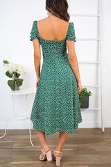 This is Love Green Midi Dress