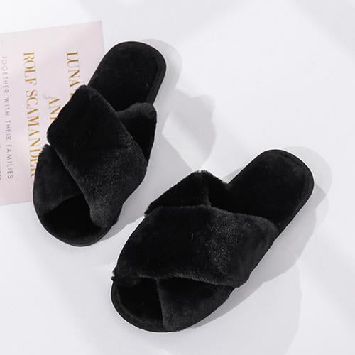 Lovely Days Solid Slippers