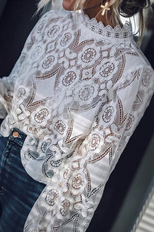 All About Love Long Sleeve Blouse