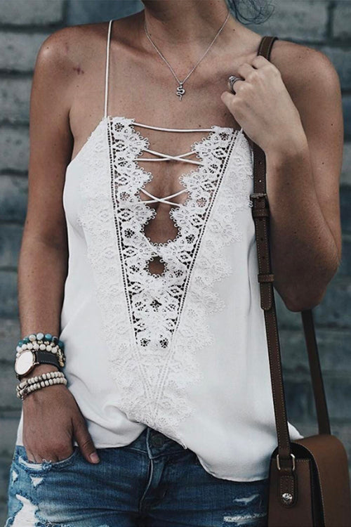 Cross Lace Tank