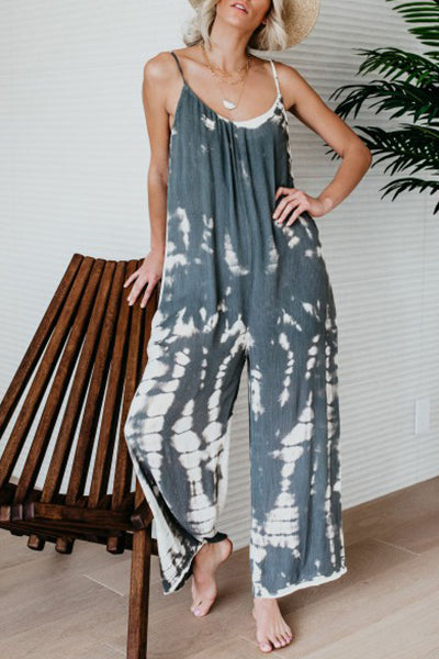 Lazy Time Sleeveless Jumpsuit