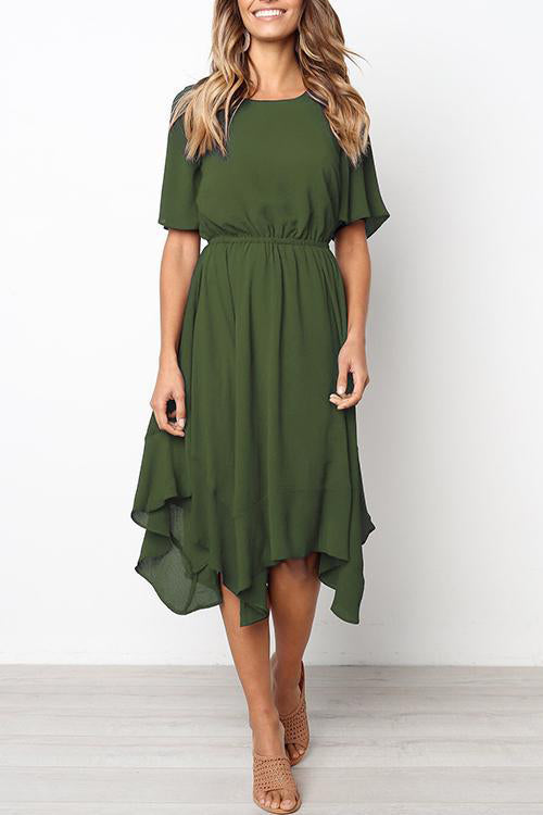 Ideal Discovery Midi Dress