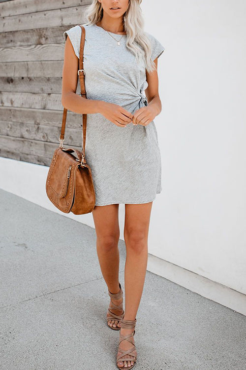 For Life Knot Mini Dress