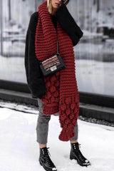 Knit Weather Cozy Scarf - UnikWe Boutique