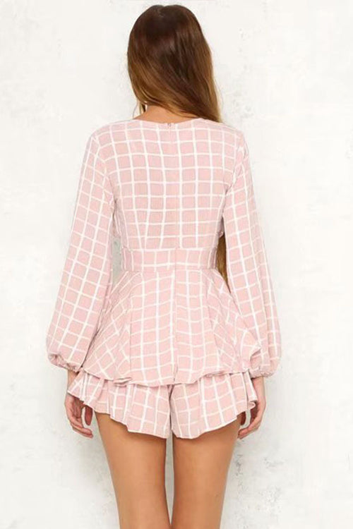 Power of Love Tie Waist Romper
