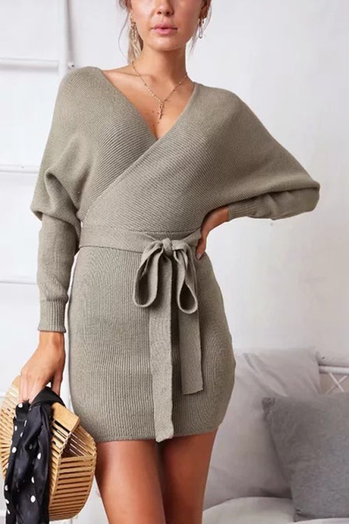 Cozy Outside Sweater Dress