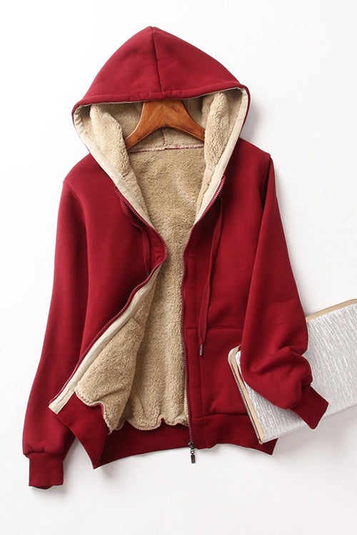Love is Life Cashmere Hooded Jacket - UnikWe Boutique