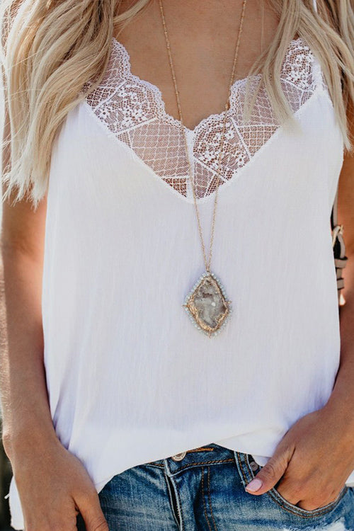 Gotta Have It Lace Tank