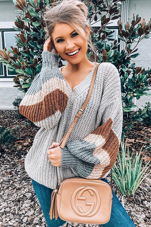 Just Your Type Puff Sleeve Sweater - UnikWe Boutique