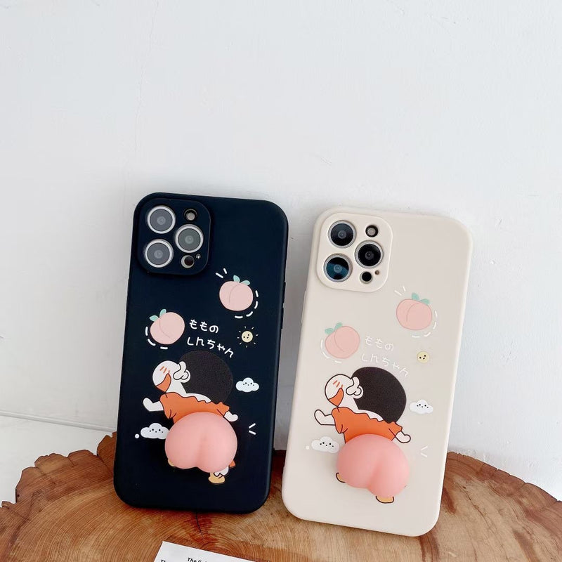 Cute Peach iPhone Case - UnikWe Boutique
