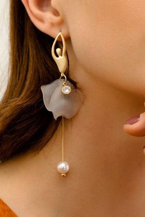 Dance Romance Ballet Girl Earrings