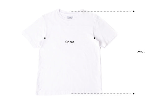 Size Guide - Pique Tee