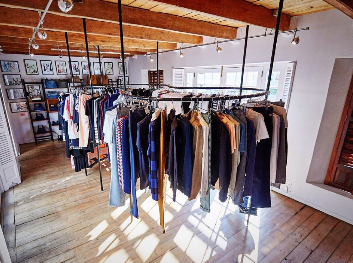 Interview with designer label boutique store owner for FIELDS