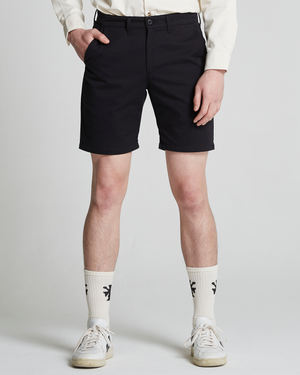 The Cotton Twill Art Short in Black Beauty