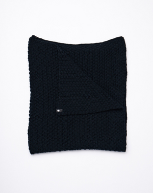 The Wool Scarf - Black Beauty