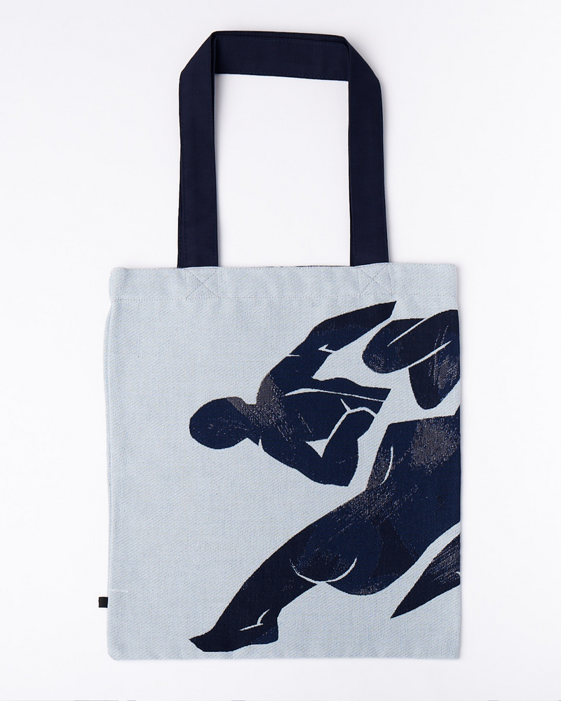 Cotton Tote Bag featuring Catherine Holtzhausen