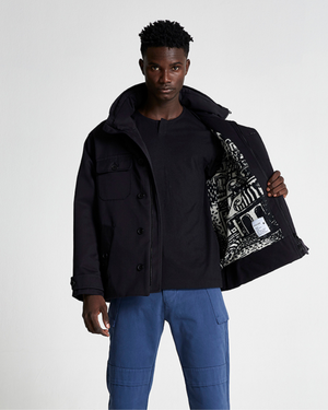 The FIELD Jacket Collaboration with Michael Chandler in Black Beauty