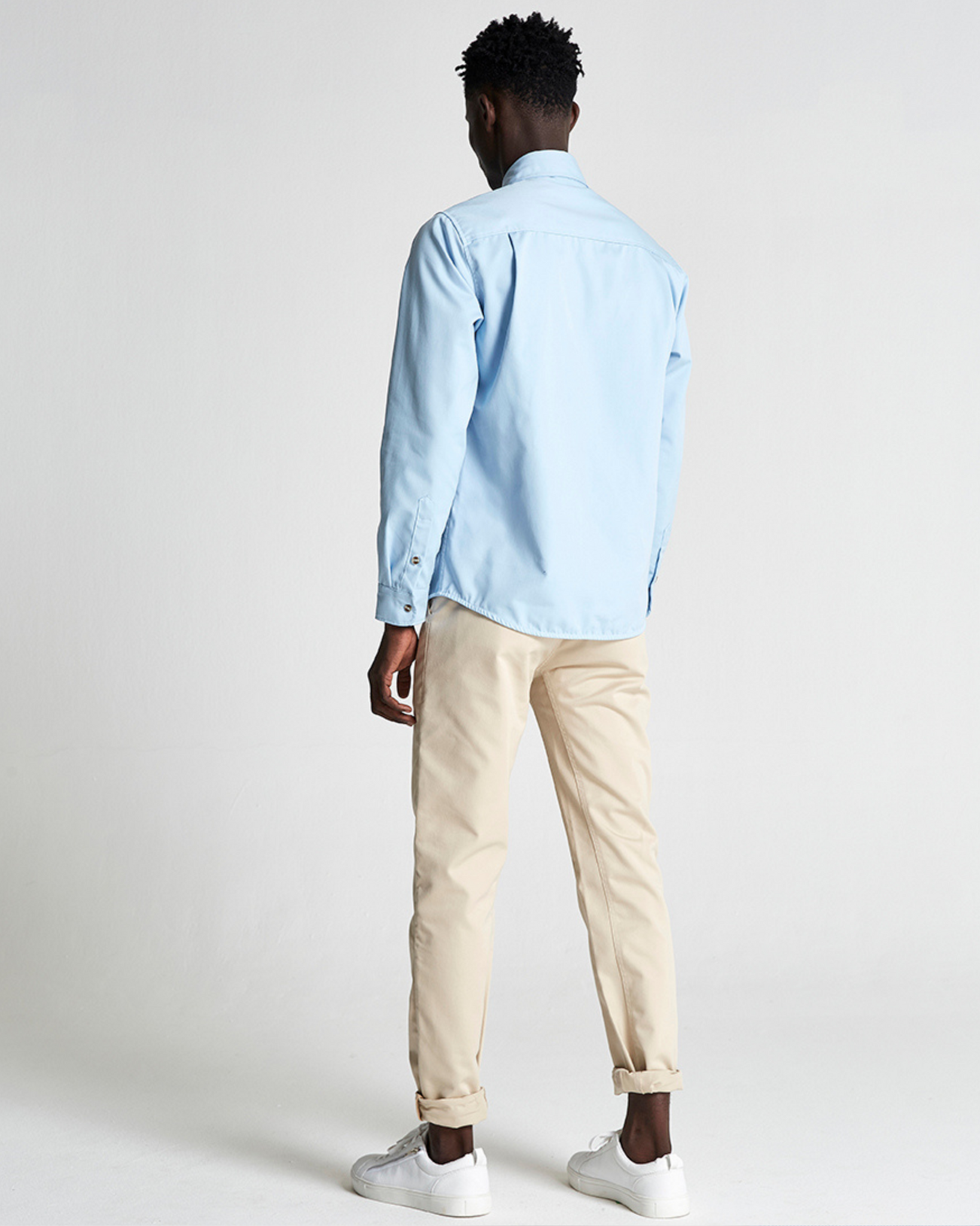 The 1 Pocket Shirt in Blue Bell
