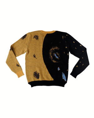 Wool & Mohair Sweater Collaboration Featuring Buhle Nkalashe