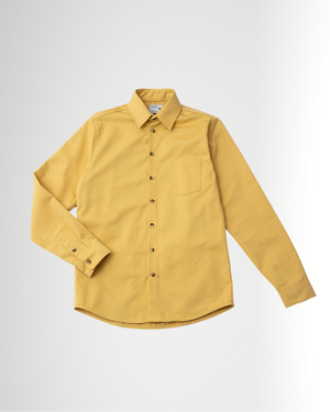 The 1 Pocket Cotton Shirt in Rattan