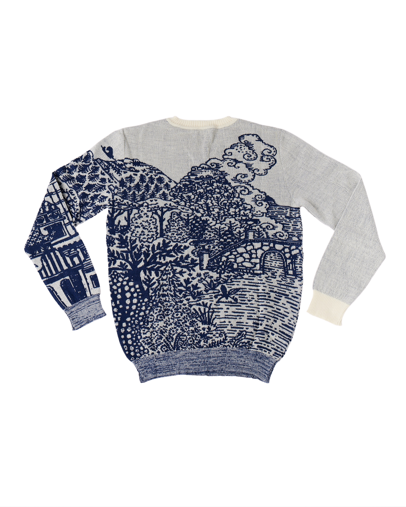 Wool & Mohair Sweater Collaboration featuring Michael Chandler