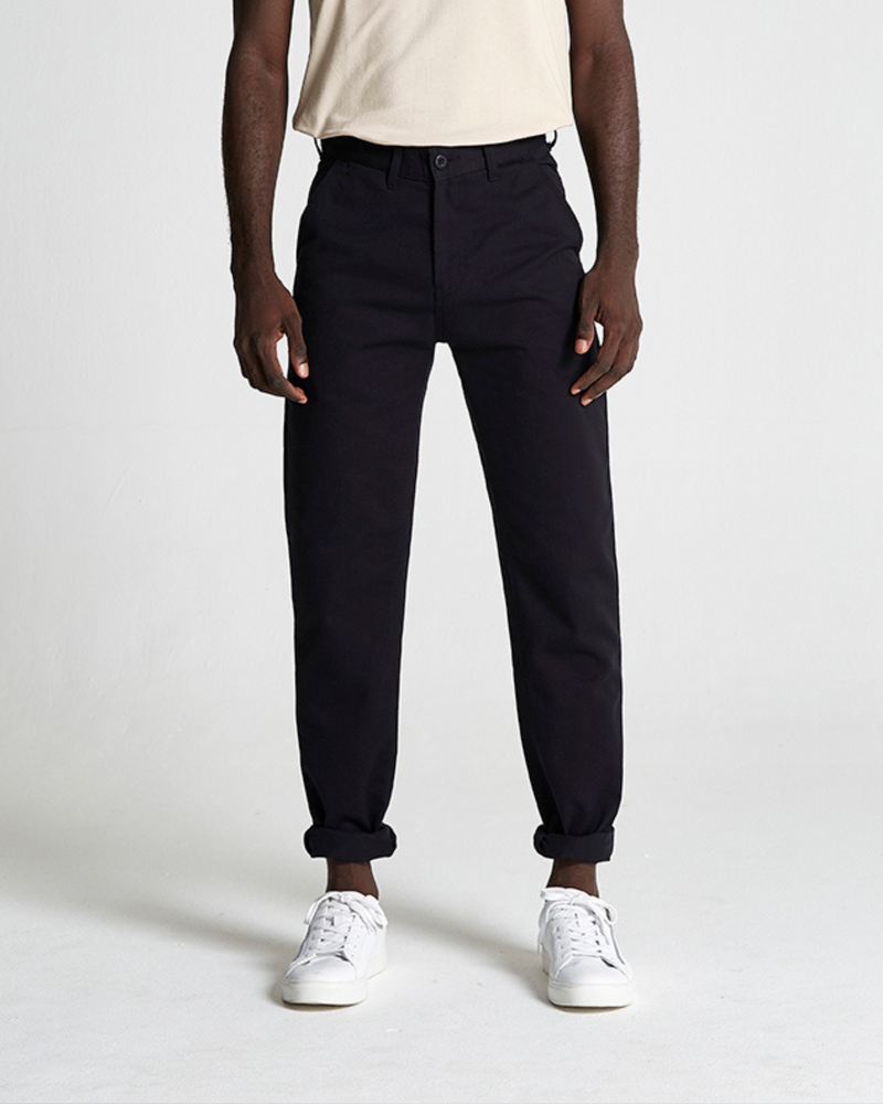 Cotton Twill Straight Leg Trouser