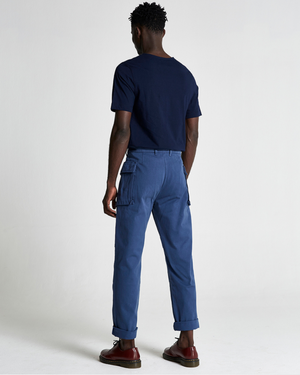 The FIELDS Trouser in Dark Denim