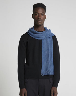 The Wool Scarf - Dark Denim