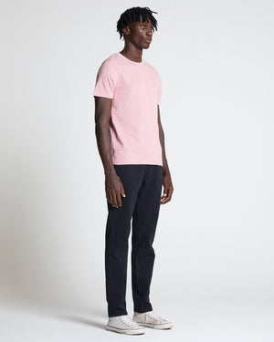 The Pique Tee in Dusty Pink