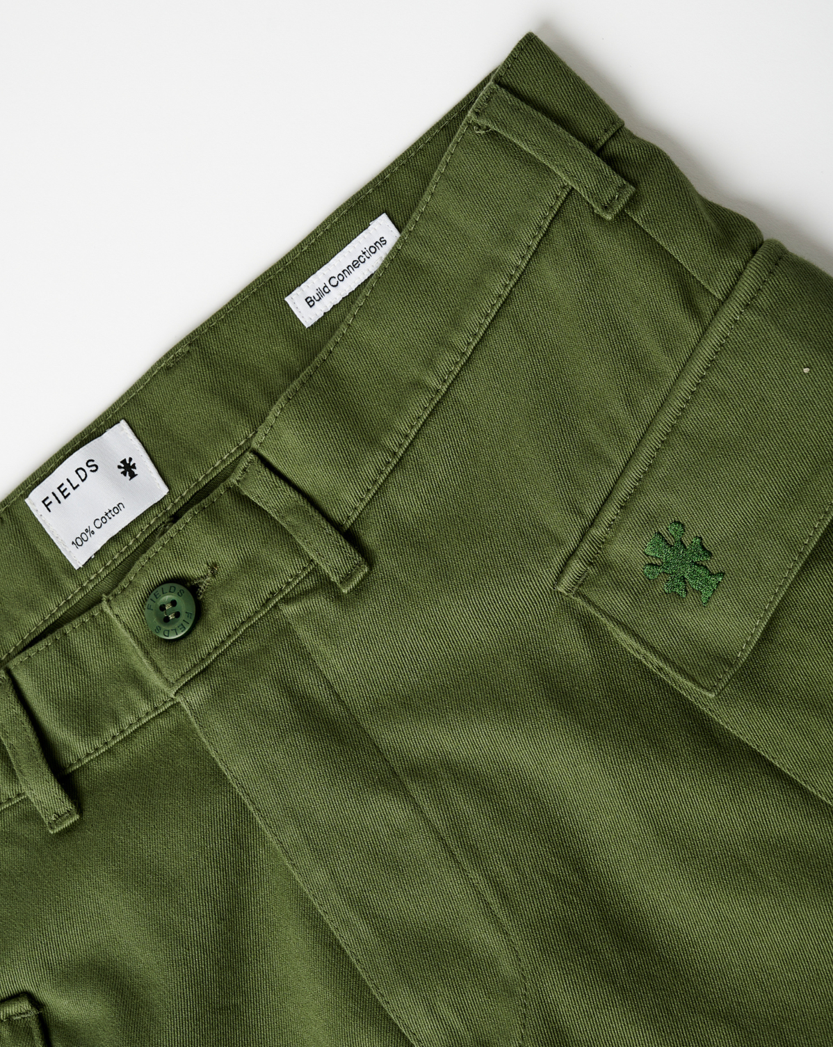 The FIELDS Trouser in Olivine